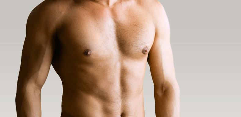 how to lose male breast fat